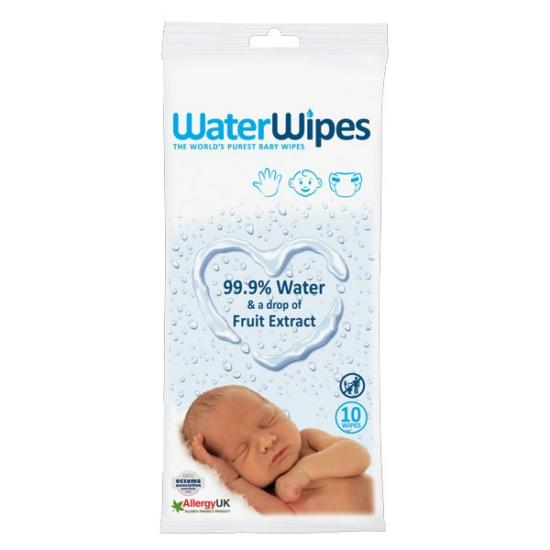 WaterWipes Törlőkendő Utazó Csomag