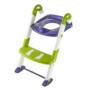 Kép 5/7 - KidsKit WC fellépő lépcső, bili és szűkítő, 3 az 1-ben, kék-fehér-zöld