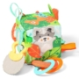 Kép 2/2 - BabyOno kocka Friendly Forest puha készségfejlesztő 9x9x9cm 548