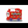 Kép 1/3 - Bébi készségfejlesztő vonat hanggal, piros 460594 Jamara