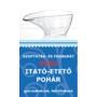 Kép 1/4 - Szoptatás- és fogbarát svéd etető-itató pohár