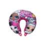 Kép 2/2 - LOL Baba utazópárna kislányoknak - nyakpárna - LOL Surprise Free Styling felirattal - pink