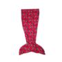 Kép 2/2 - Gyerek sellő takaró - plüss hálózsák - Minnie egér - pink
